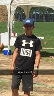 Congratulations to Kole Kimbrel for winning 1st place!
